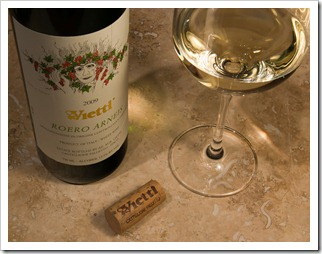 Vietti Roero Arneis 2009 (click to enlarge)