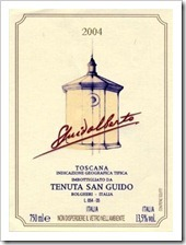 Example of an Italian IGT Wine - Tenuta San Guido
