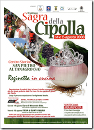 Festival of the Onion?  Yep, you're in Italy alright