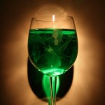 Green wine? Not exactly what we meant...