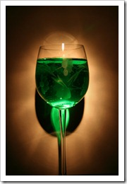 Vino Verde?  Not exactly what I mean.