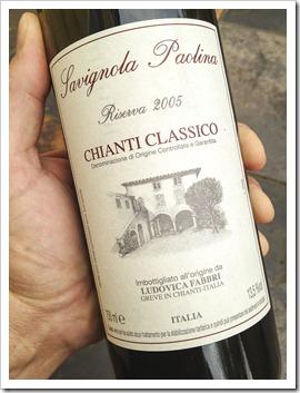 Savignola Paolina Chianti Classico Riserva