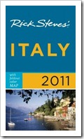 Best compact, opinionated guidebook to Italy: Rick Steves