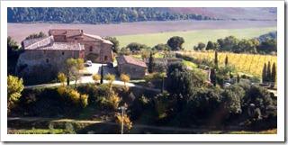 Mastrojanni Winery near Montalcino in Castelnuovo dell'Abate