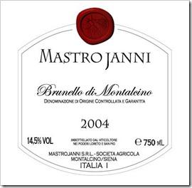 Mastrojanni Brunello di Montalcino DOCG 2004