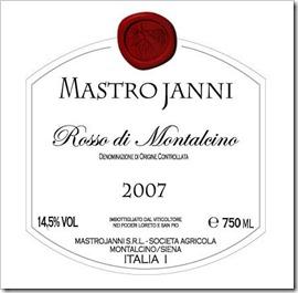 Mastrojanni Rosso di Montalcino DOCG 2007