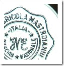 The Mastrojanni Family wine seal