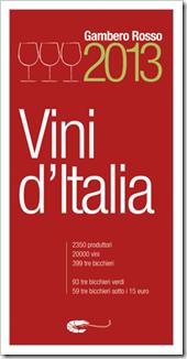 Gambero Rosso Tre Bicchieri 2013 guide