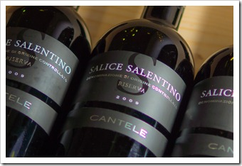 Great value: Cantele Salice Salentino Riserva 2009