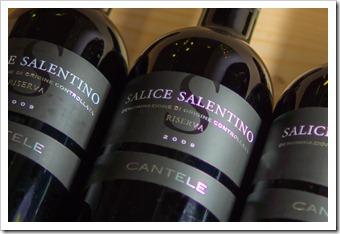 Great value: Cantele Salice Salentino Riserva 2009