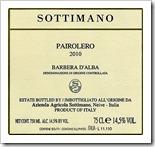 Sottimano Barbera d'Alba Pairolero 2010