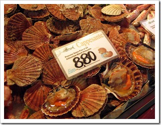 Don't miss visiting the Rialto Fish Market while in Venice