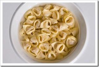 Tortellini in Brodo, a Bologna specialty