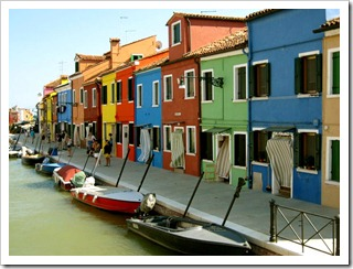 Don't miss Burano for some wildly colored homes