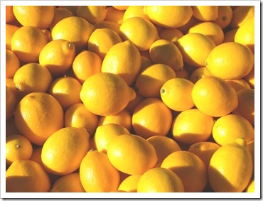It's lemon season. Think Limoncino