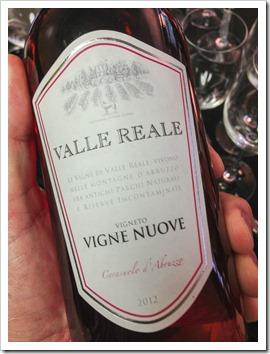 Tasting: Valle Reale Cerasuolo d'Abruzzo 2012