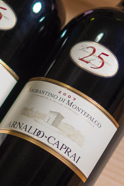Sagrantino di Montefalco by Arnaldo Capria