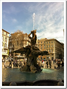 Piazza Navona/Fountain for Four Rivers