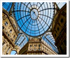The architecture in Milan is amazing