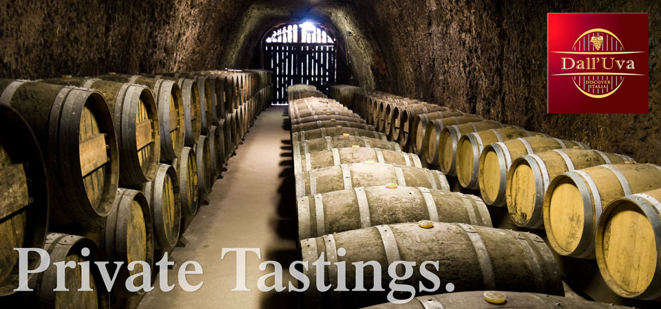 Join Dall'Uva for a Private Wine Tasting