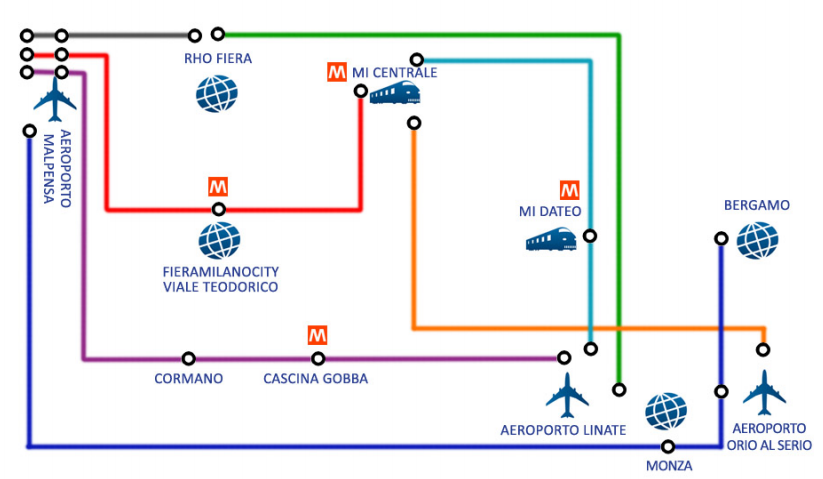 map of venice italy bus station with Getting From Malpensa To Milan on Hostel Split Backpackers in addition Rome metro further Trams in Mestre besides Frankfurt Hauptbahnhof Map besides Murano.