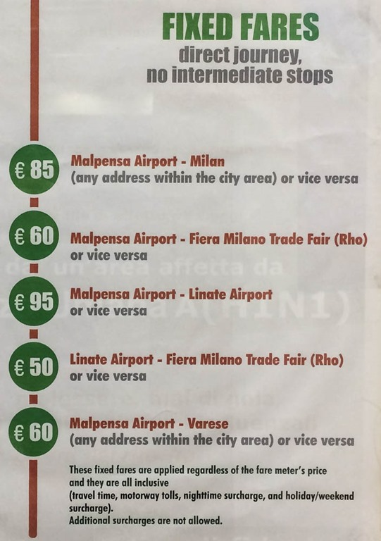 how to get to milan malpensa airport