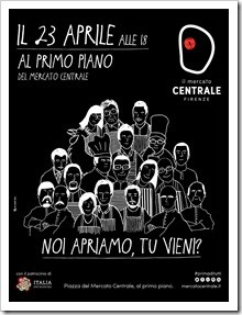 Are you coming? Grand opening of the Primo Piano gastronomic space at Mercato Centrale in Florence