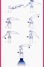 Easy directions for how to use the corkscrew are included