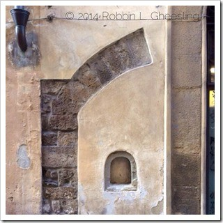 The Wine Doors of Florence are hidden in plain sight
