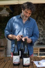 Bruno Ferrara Sardo tasting in his cantina