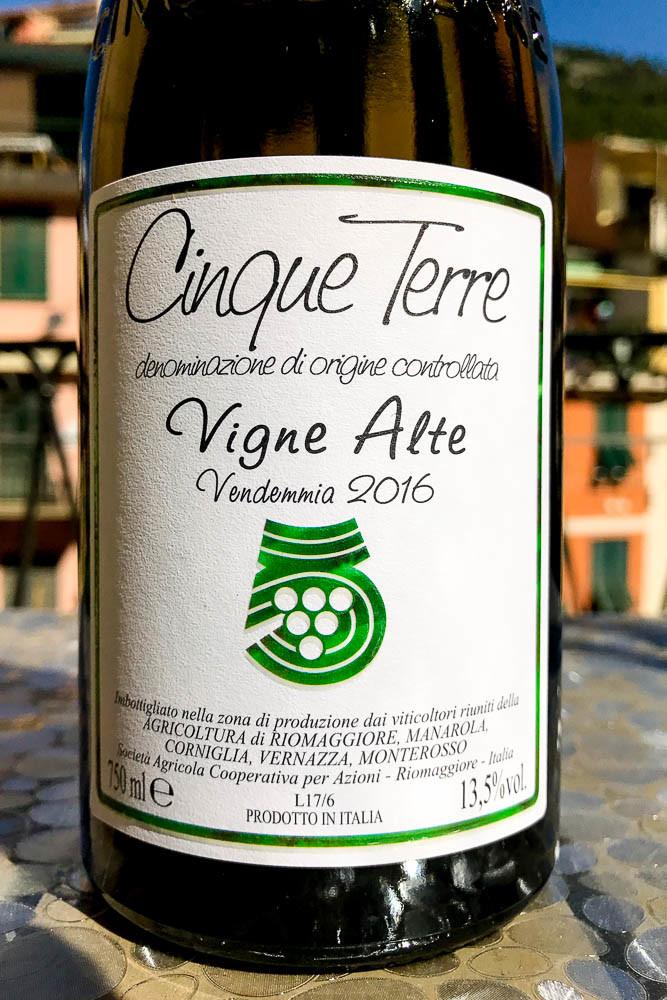 Cantina Cinque Terre Vigne Alte 2016