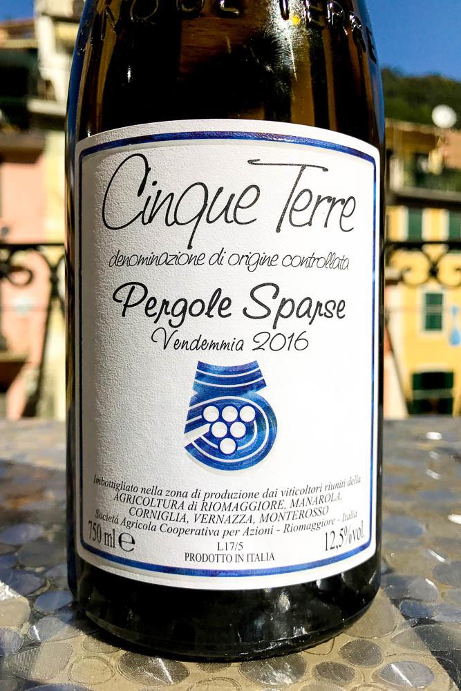 Cantina Cinque Terre Pergole Sparse 2016