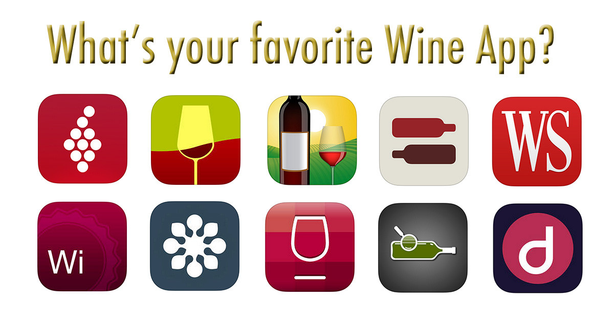 What's your Favorite Wine App?