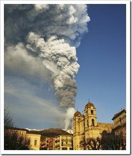 Etna towns live a precarious life in the shadow of the volcano