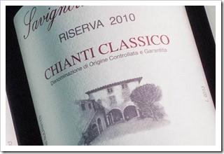 Savignola Paolina Chianti Classico Riserva 2010