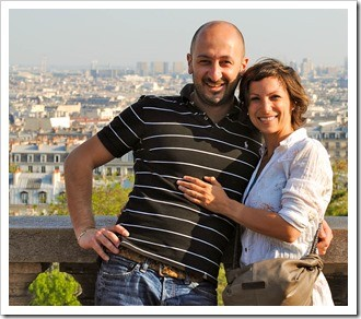 Trusty guide Anna Savino and her hubby Claudio. Book'em!