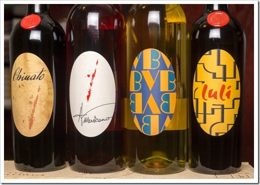 Mauro Vergano's line-up of house-brewed Vermouth and Chinato