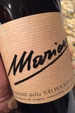 Simple label, but complexity in spades inside. Mario Amarone, on dalluva.com