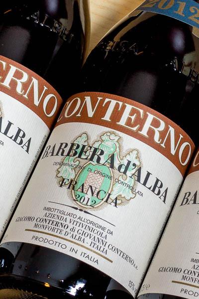 Giacomo Conterno Barbera d'Alba Francia on dalluva.com