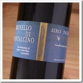 Siro Pacenti Brunello is delicious