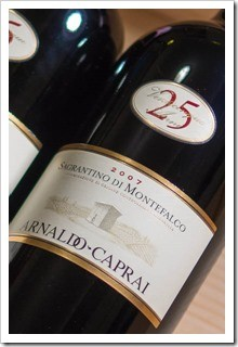 Arnaldo Caprai Sagrantino di Montefalco 25 Anni is wonderful