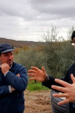 Roberto telling the story of the unique terroir in the Radda hills