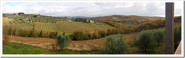 The vineyards of Val delle Corti are high-elevation and just outside of Radda in Chianti
