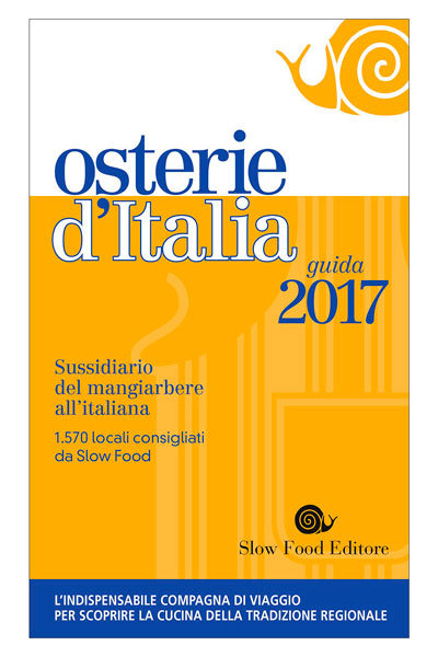 Slow Food's Osterie d'Italia 2017 on dalluva.com
