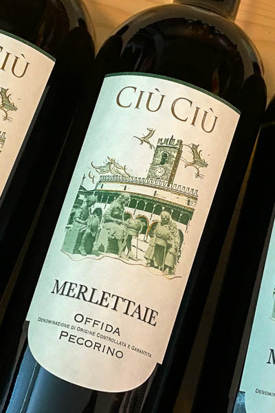 Ciu Ciu Pecorino Offida Marlettaie 2015 on dalluva.com