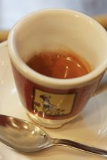 Press your own Tazza d'Oro espresso with fresh roasted beans.