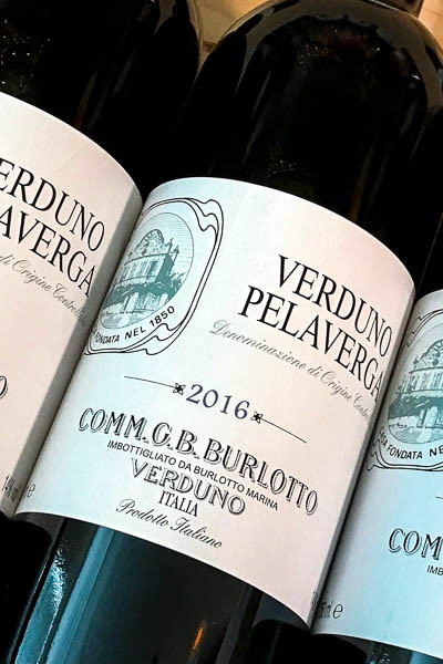 Burlotto Verduno Pelaverga 2016 on dalluva.com