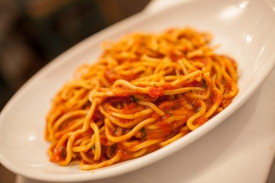 mmmm.... Spaghetti alla Scarpara
