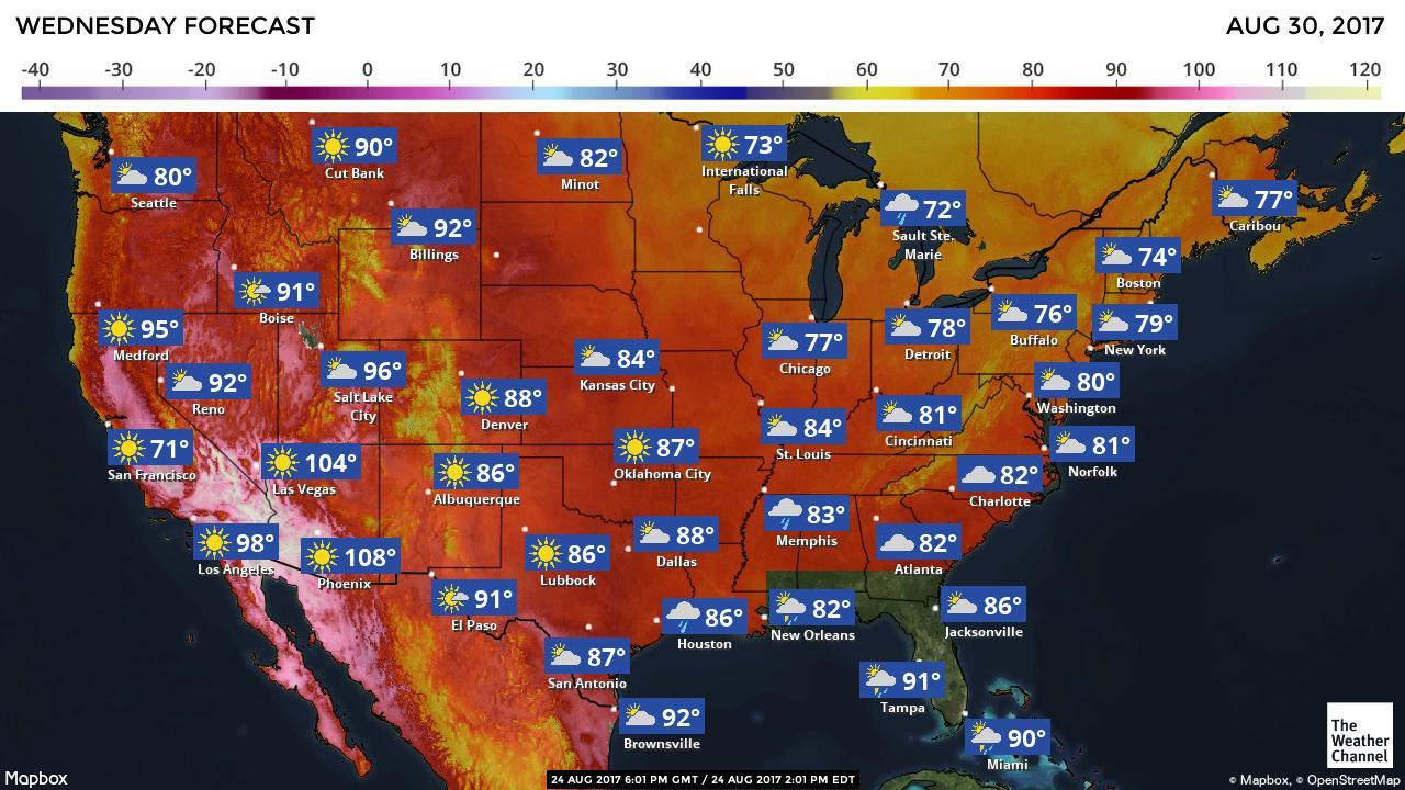 Shipping in August can be tricky, just look at some of those hot zones! Go with temperature-controlled shipping.