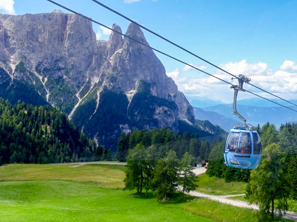 Ride the gondolas up to pristine alpine hiking.